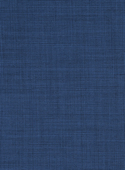 Napolean Nailhead Blue Wool Suit - Click Image to Close