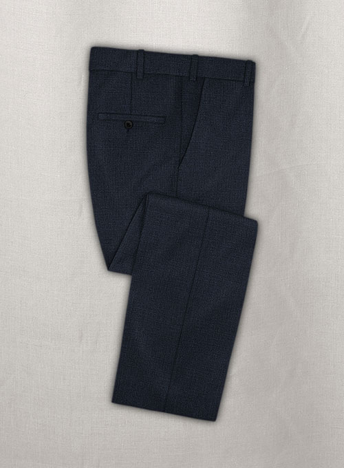 Pinhead Wool Blue Suit - Click Image to Close