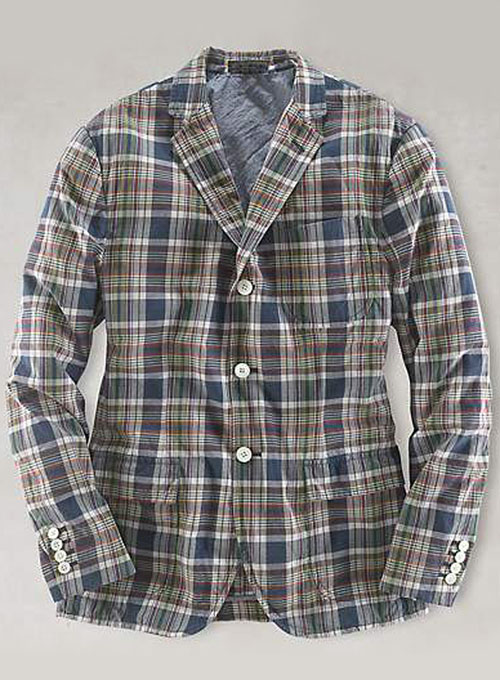 Plaid Jacket - Pre Set Sizes - Quick Order