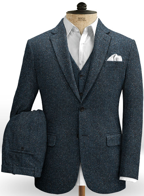 Robin Blue Flecks Donegal Tweed Suit