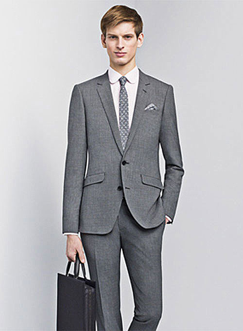 Scabal Wool Suits - Pre Set Sizes - Quick Order
