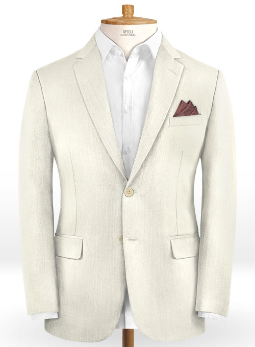 Scabal Fawn Wool Suit - Click Image to Close