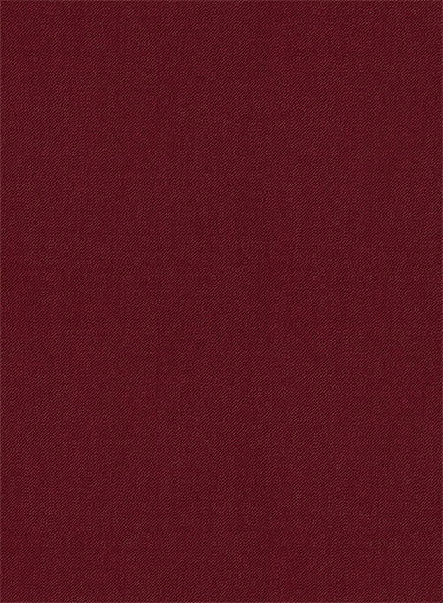 Scabal Maroon Wool Suit - Click Image to Close