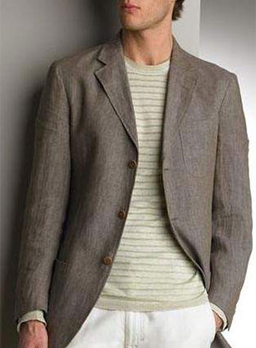 Patch Pocket Linen Jackets Makeyourownjeans 174 Made To