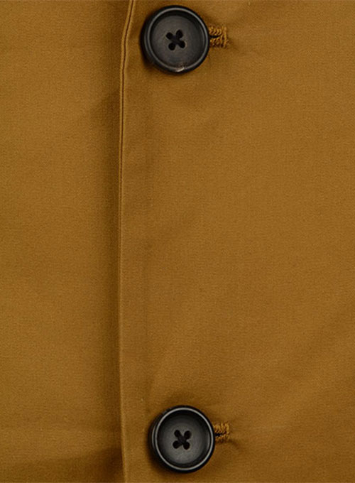 Summer Weight Dk Khaki Chino Jacket