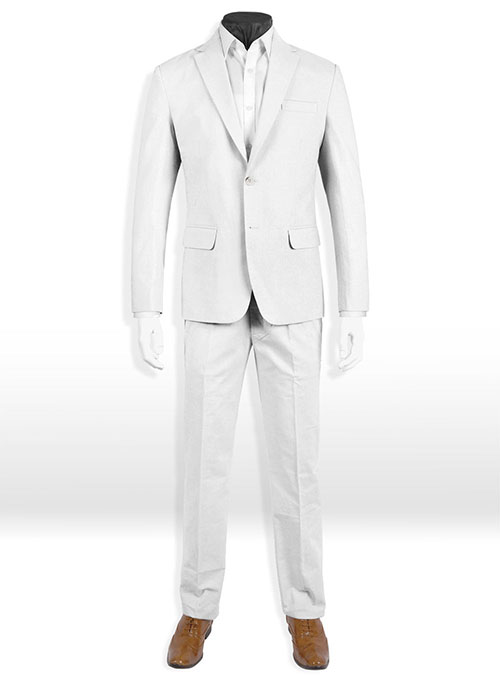 Tropical White Linen Suit Makeyourownjeans Made To Measure
