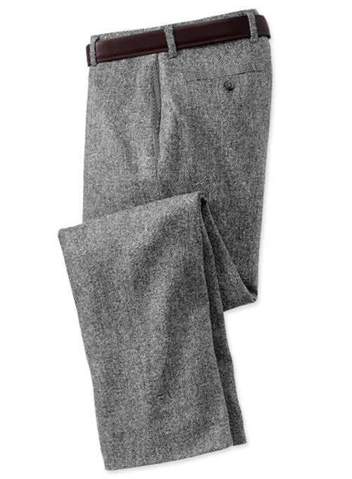 Pure Wool Tweed Pants - Pre Set Sizes - Quick Order