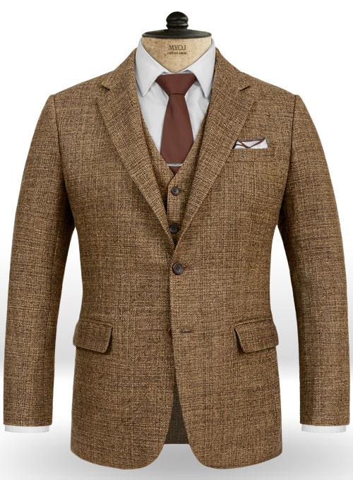 Vintage Glasgow Brown Tweed Jacket Makeyourownjeans