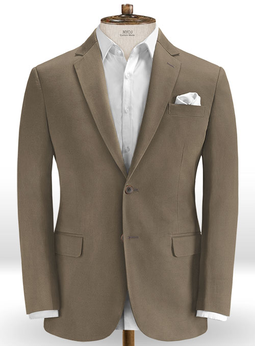 Woodland Twill Stretch Chino Suit - Click Image to Close