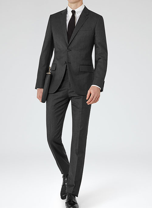 Worsted Wool Suits - Smooth Finish