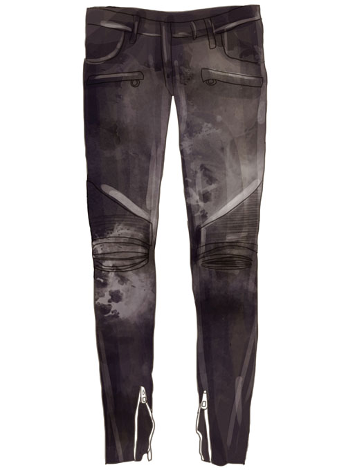 Your Design Leather Jeans