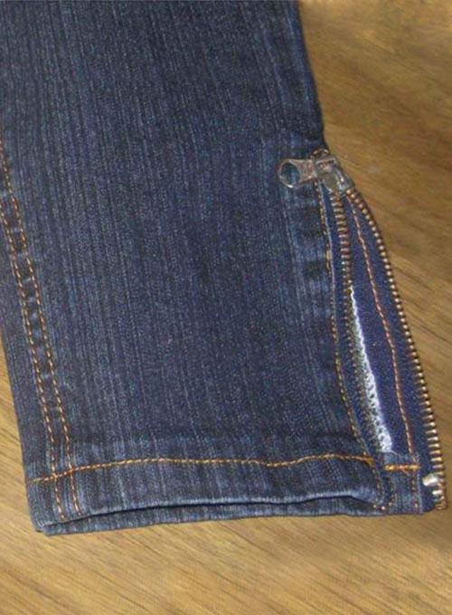 Zipper On Leg Bottom Zipper S Custom Pants Tailored Pants