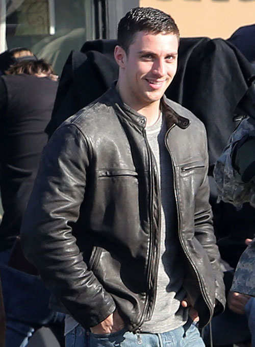 Aron Taylor Johnson Godzilla 2014 Leather Jacket