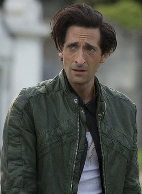 Adrien Brody American Heist Leather Jacket