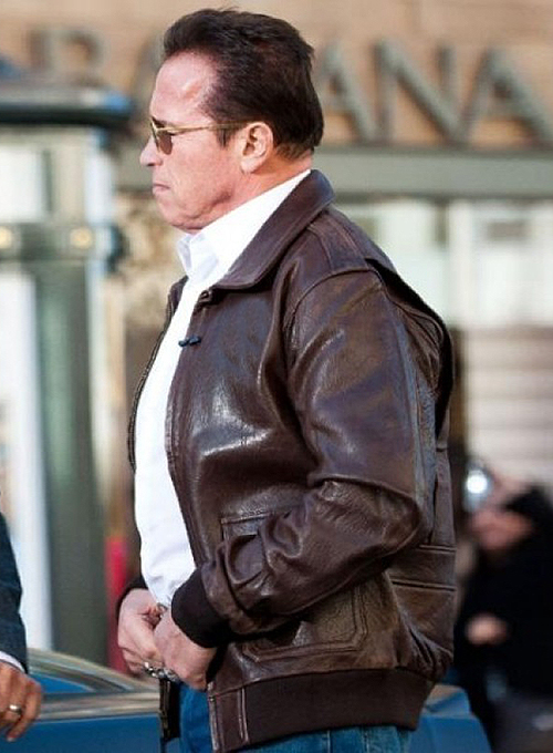 Arnold Schwarzenegger The Last Stand Leather Jacket