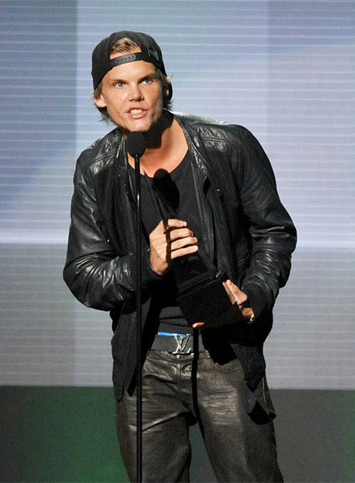 Avicii The American Music Awards Leather Jacket