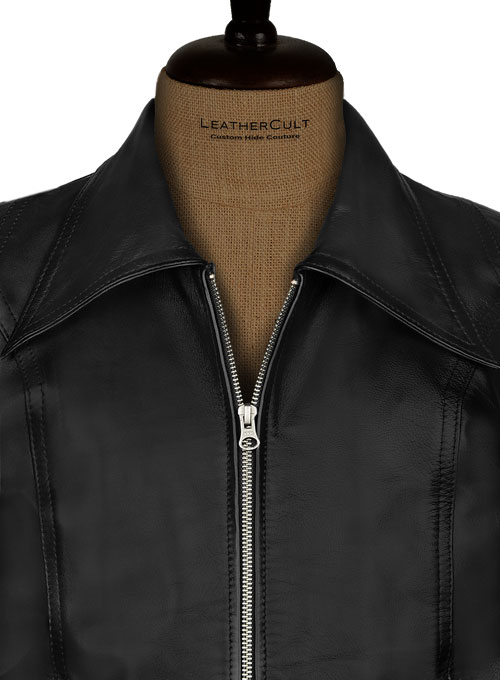 Black X Men Days of Future Past Leather Jacket