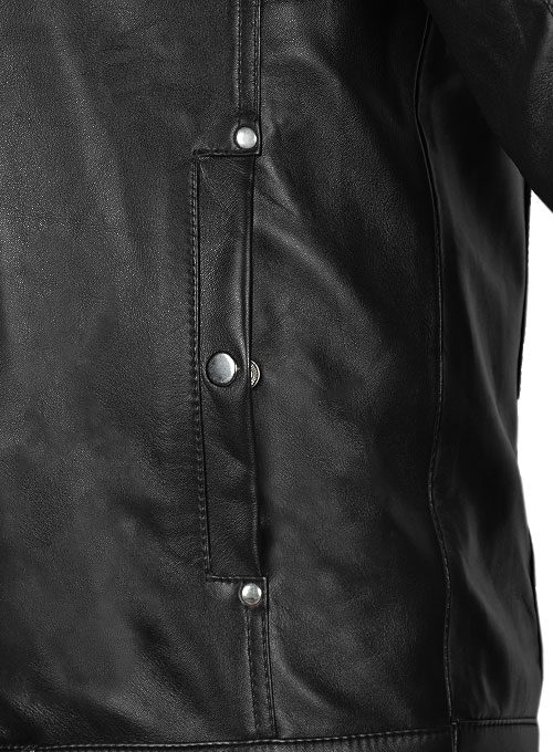 Bradley Cooper Limitless Leather Jacket