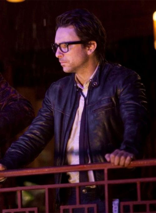 Charlie Hunnam Pacific Rim Leather Jacket