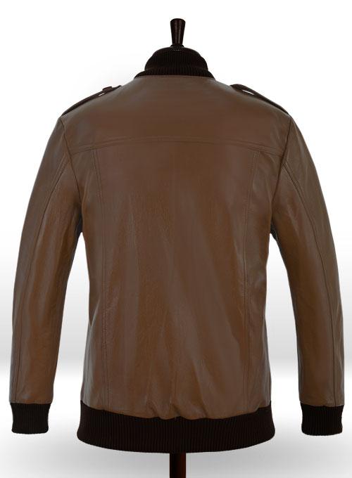 Cristiano Ronaldo Leather Jacket #2