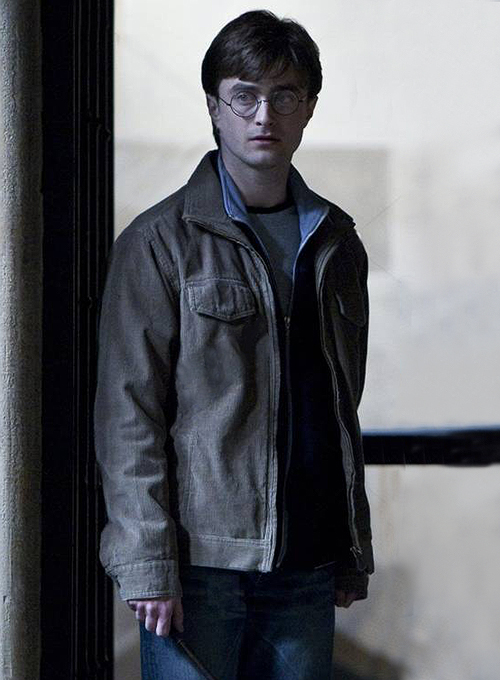 Daniel Radcliffe Harry Potter and Deathly Hallows Leather Jacket