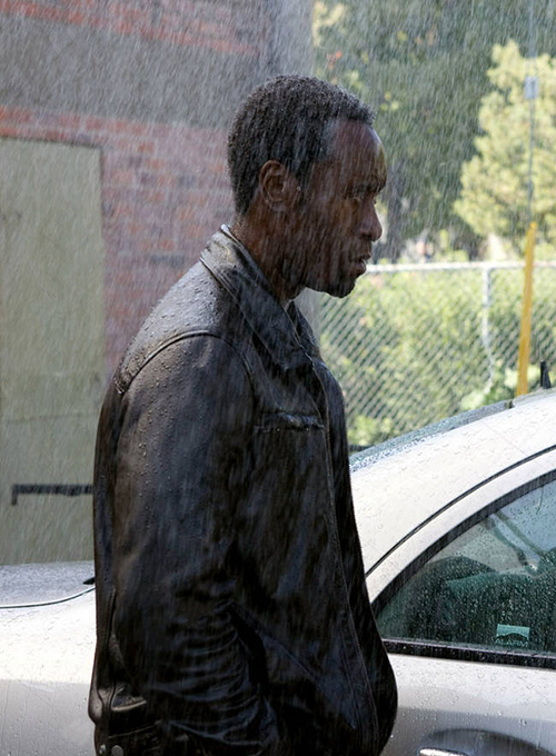 Don Cheadle Traitor Leather Jacket