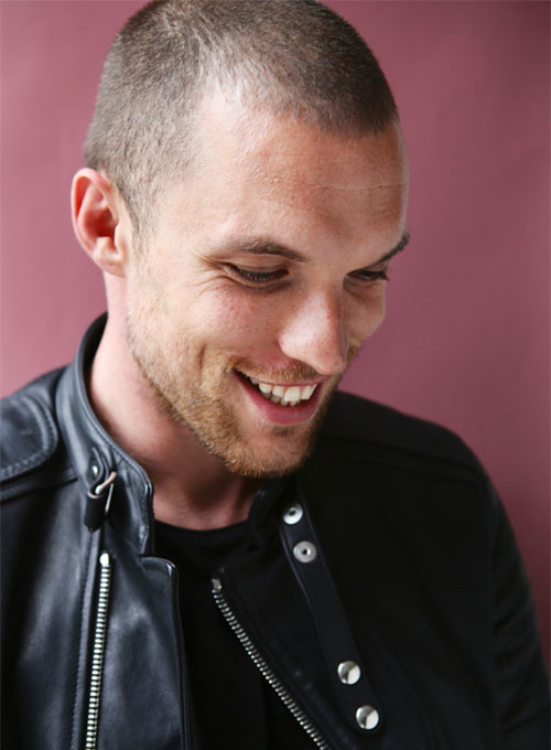Ed Skrein Deadpool Leather Jacket