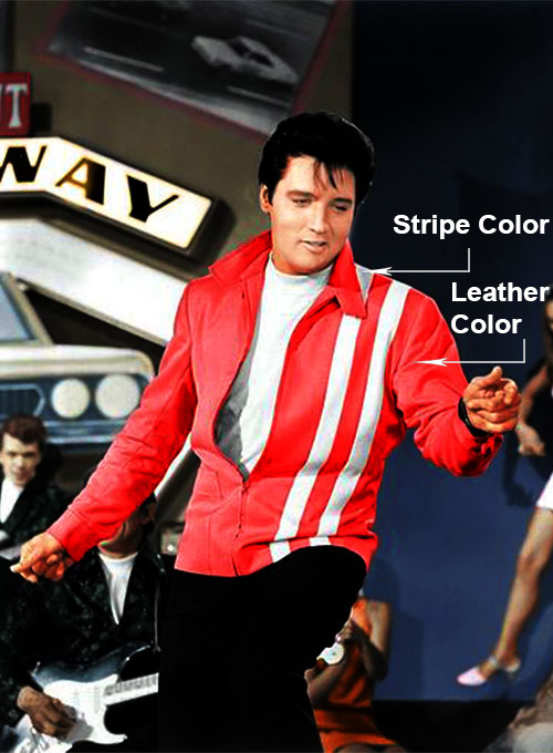 Elvis Presley Speedway Leather Jacket