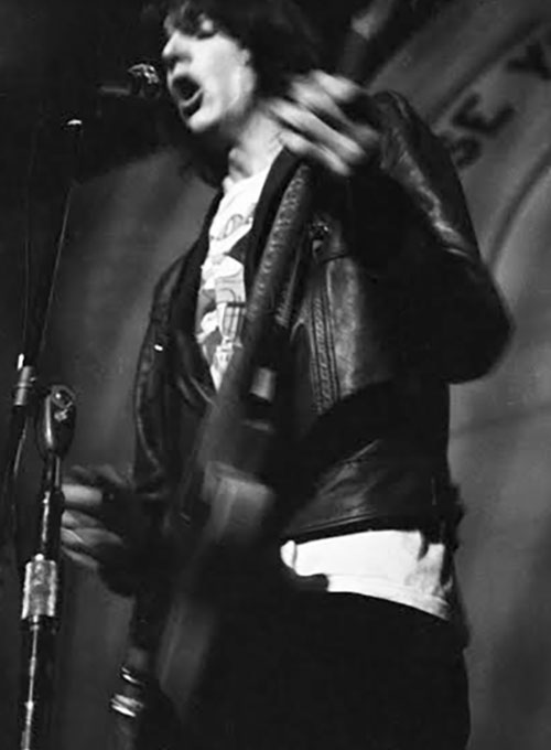 Gram Parsons Circa 1969 Leather Jacket