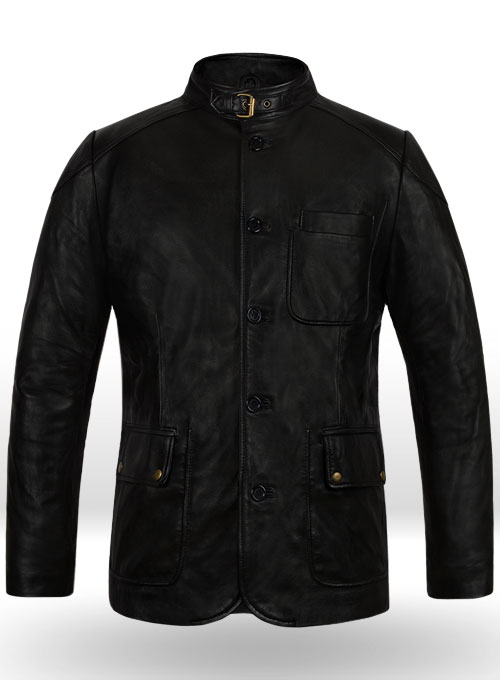 Hugh Jackman Real steel Leather Jacket