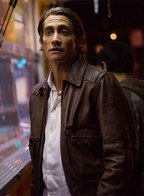 Jake Gyllenhaal Nightcrawler Leather Jacket