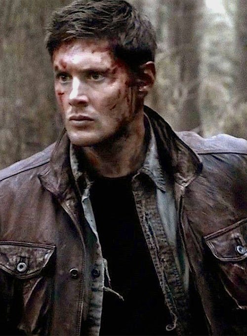Jensen Ross Ackles Supernatural Season 7 Leather Jacket