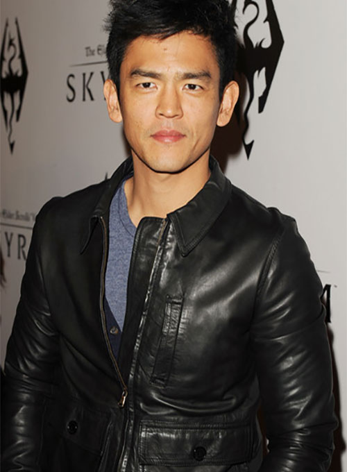 John Cho Leather Jacket