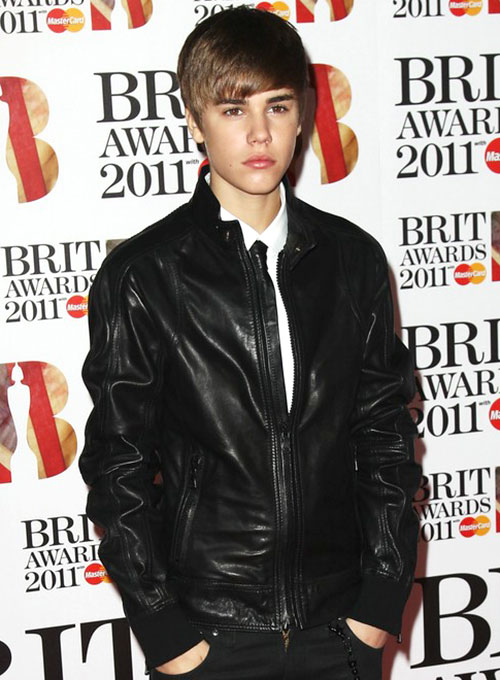 Justin Bieber The BRIT Awards Leather Jacket