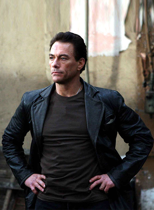 Jean-Claude Van Damme Until Death Leather Blazer