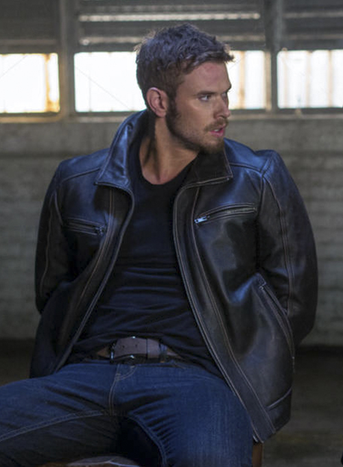 Kellan Lutz Extraction Leather Jacket