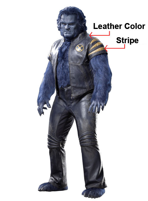 Kelsey Grammer X-Men: The Last Stand Leather Jacket