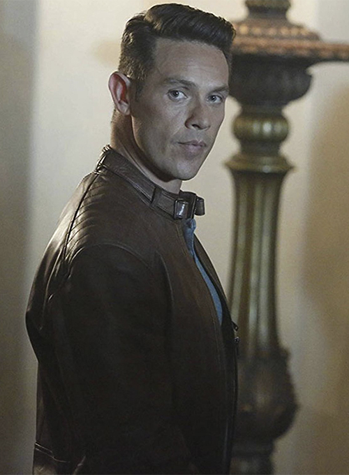 Kevin Alejandro Lucifer Leather Jacket #1