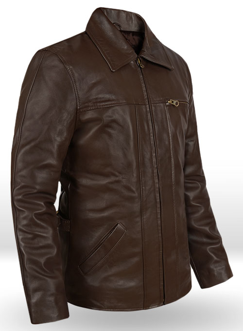 Leonardo DiCaprio Inception Leather Jacket