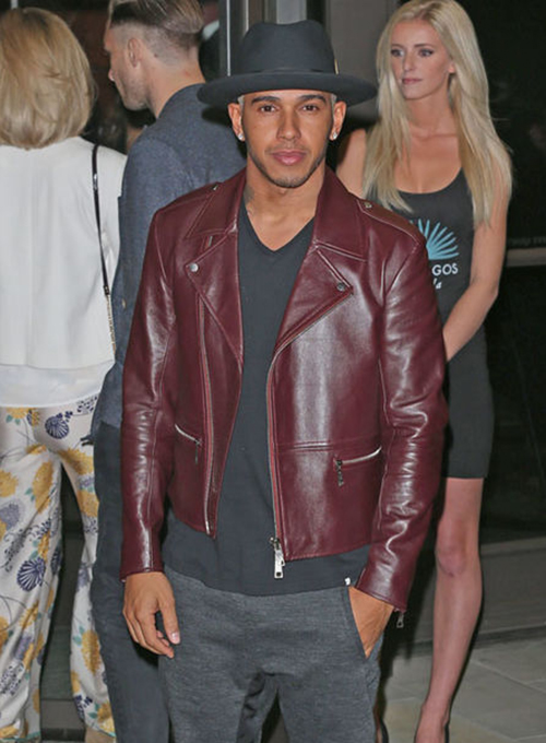 Lewis Hamilton Leather Jacket