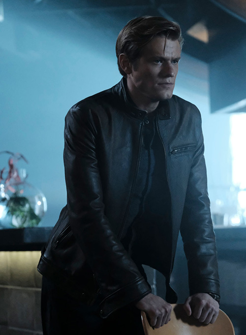 Lucas Till MacGyver Leather Jacket