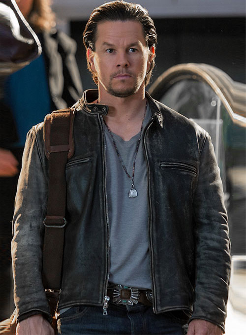 Mark Wahlberg Daddys Home Leather Jacket