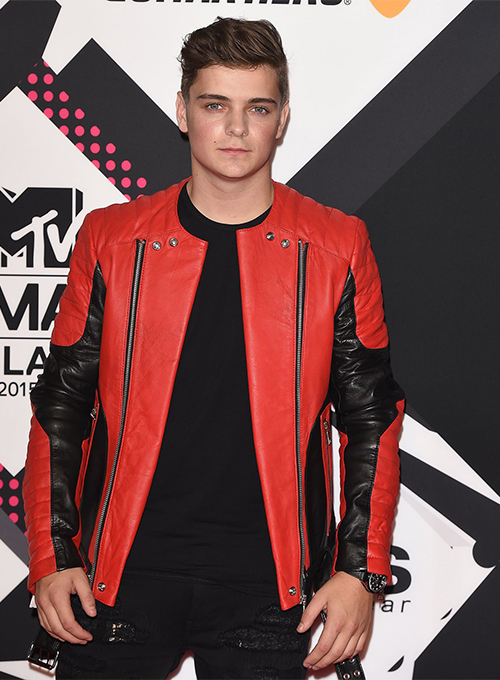 Martin Garrix MTV European Music Awards Leather Jacket
