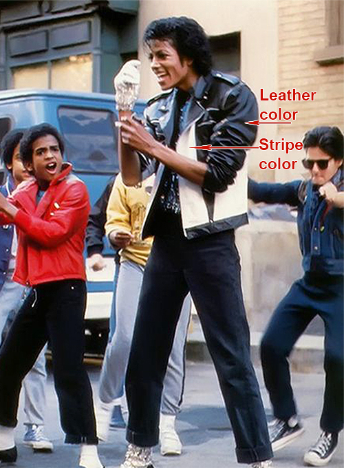 Michael Jackson Leather Jacket #2
