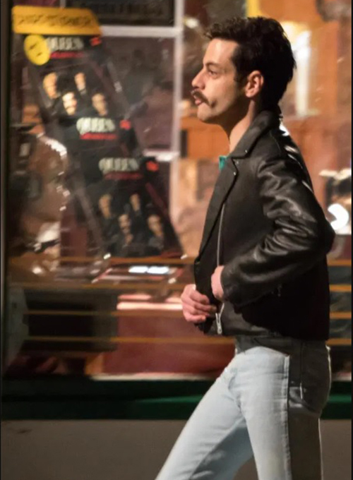 Rami Malek Leather Jacket