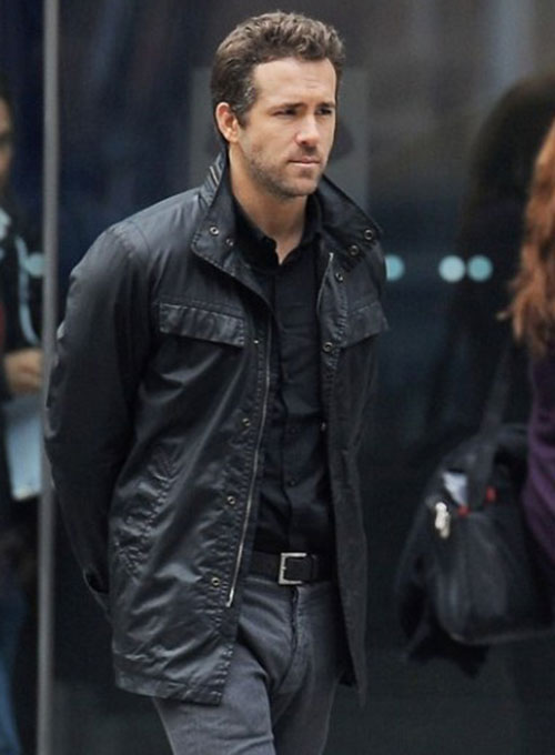 Ryan Reynolds R.I.P.D Leather Jacket
