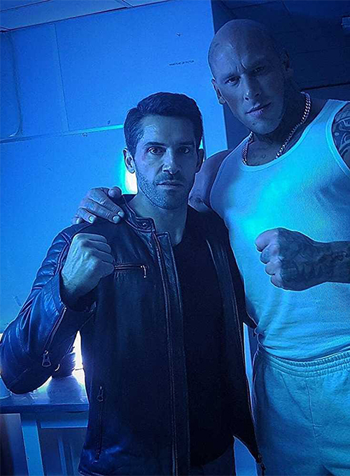 Scott Adkins Accident Man Leather Jacket