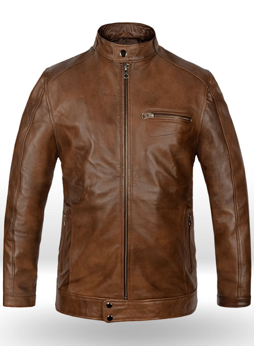 Scott Eastwood Overdrive Leather Jacket