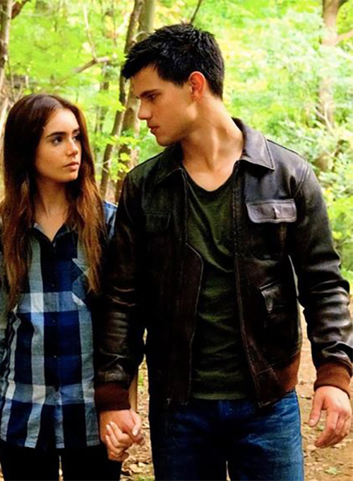 Taylor Lautner Abduction Leather Jacket