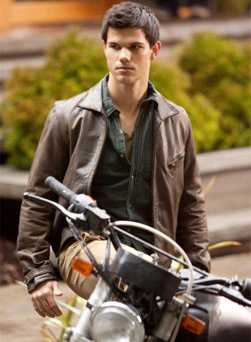 Taylor Lautner The Twilight Saga Leather Jacket